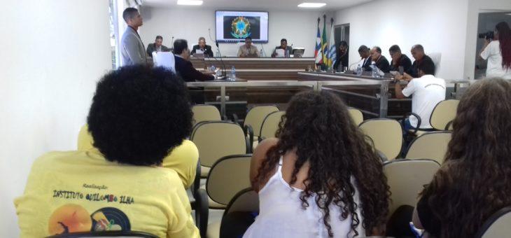 Em sessão extraordinária vereadores aprovam doação de terreno ao Instituto Quilombo Ilha