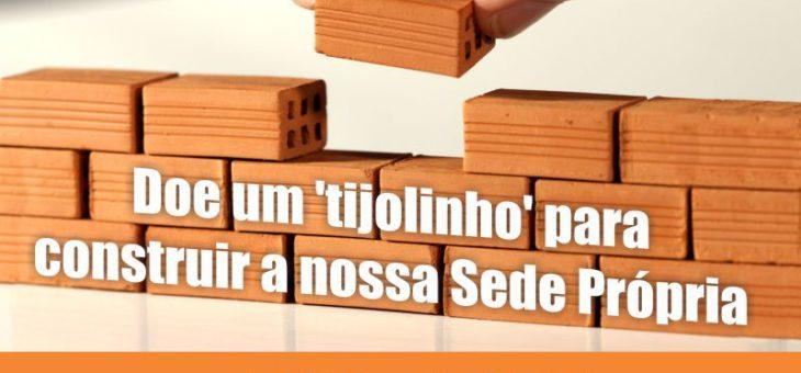 """Doe um """"tijolinho"""" para construir a sede do Instituto Quilombo Ilha"""