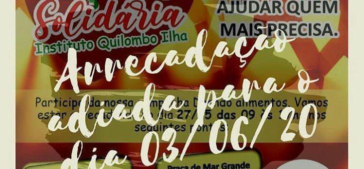 Aconteceu a Ação Solidária do Instituto Quilombo Ilha