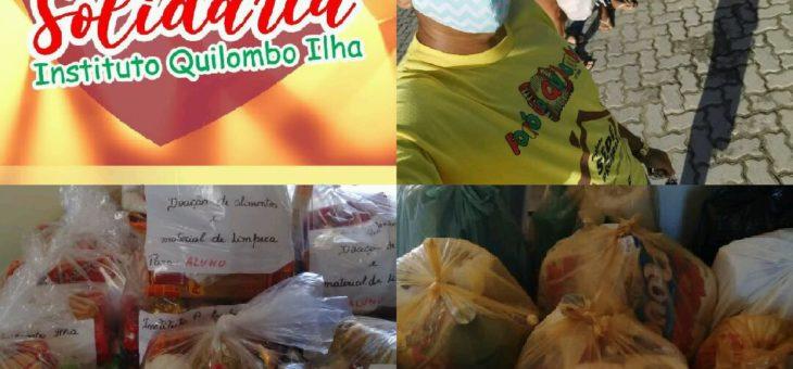 Ação Solidária – Entrega das doações para a comunidade