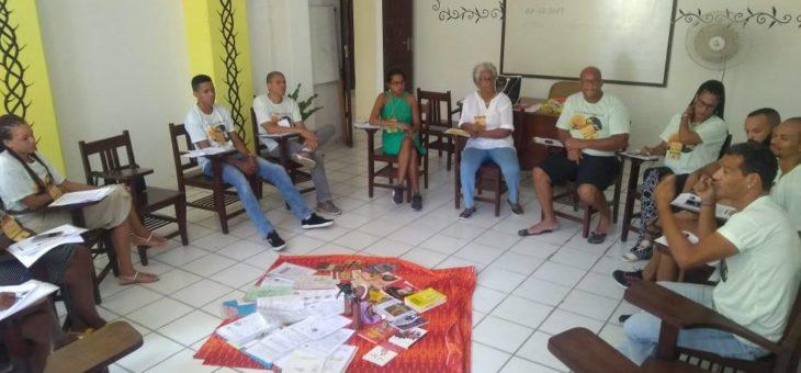 Formação Pedagógica do Instituto Quilombo Ilha momento de aprendizagem e experiência