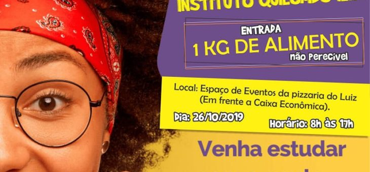 ABERTAS AS INSCRIÇÕES DO AULÃO SOLIDÁRIO DE REVISÃO PARA ENEM 2019